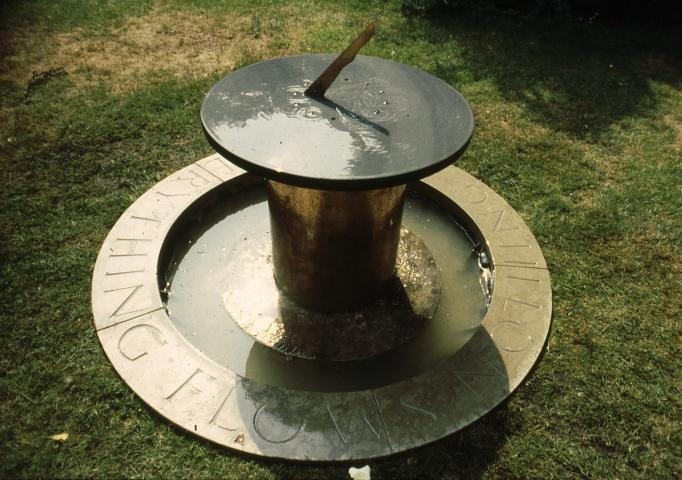 Sundial slate copper and purbeck